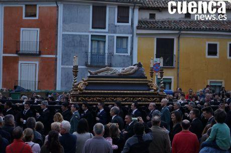 VIDEO | Magna procesión conmemorativa del 75º Aniversario de la llegada del Cristo Yacente