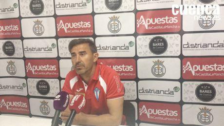 Sala de Prensa | Manolo Alfaro - [U.B. Conquense 0 - 2 Formac Villarrubia C.F.]