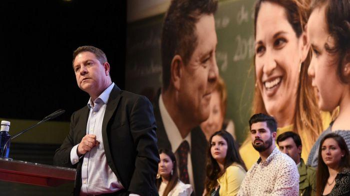 García-Page: 'Frente a una región en desmontaje, una que se ha puesto de pie'
