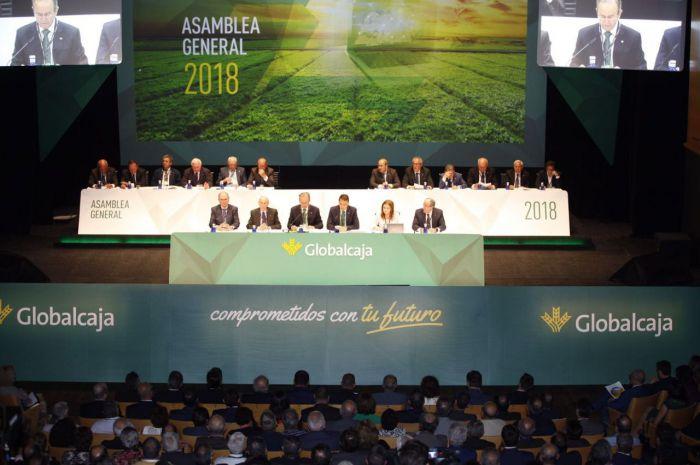 Globalcaja cierra 2017 con un beneficio de 22 millones, el 37 % más que en 2016