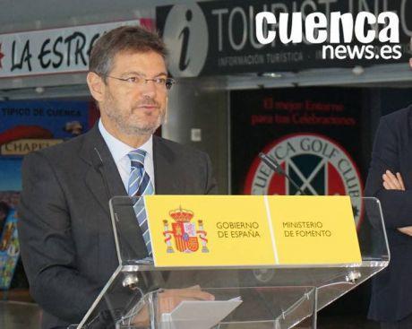 El ministro Rafael Catalá, distinguido como 'Conquense del año' por el Rotary Club