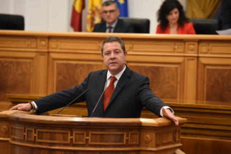 García-Page plantea una legislatura para Castilla-La Mancha basada en la cohesión, la competitividad y la sostenibilidad