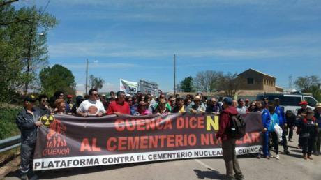 La Plataforma contra el Cementerio Nuclear alerta de que la renuncia de Enresa no es el fin del ATC
