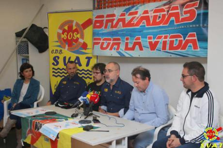Más de 300 nadadores harán 100 kilómetros por la ELA en Tarancón