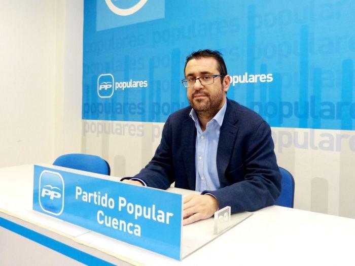 Algaba denuncia que la primera medida del PSOE sea no presentar en el Senado sus enmiendas a los PGE en relación a Cuenca