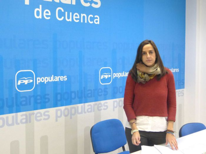 """María Roldán: """"Page ha conseguido que ni sus propios socios de Gobierno, Podemos, se fíen de sus intenciones"""""""