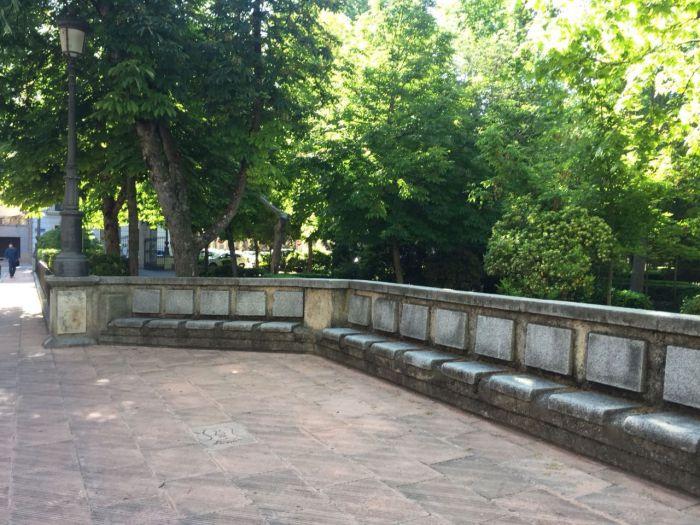 """Piden a Mariscal que desista del proyecto para demoler el muro del parque de San Julián """"por no tener consenso social ni político"""""""