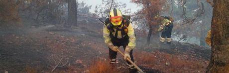 Extinguido el incendio de Arcas del Villar