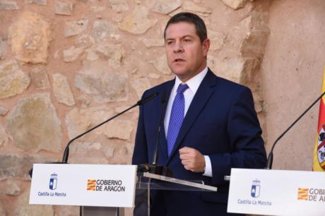 """García-Page celebra el fin de los """"cordones sanitarios"""" en la política nacional y apuesta por evitar enfrentamientos """"entre una mitad de España y la otra"""""""