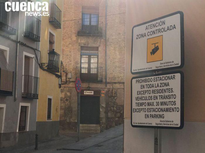 """Ciudadanos lamenta, tras una semana en funcionamiento, la """"pésima"""" gestión del proyecto de control de acceso al Casco"""