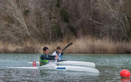 Gran actuación del palista Pablo Zamora en el Control de Aguas Tranquilas de Invierno