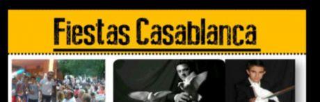 Con el pregón del reconocido pintor Emilio Morales arrancan las Fiestas de Casablanca