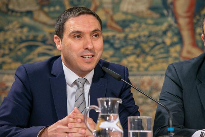 Álvaro Martínez Chana,  presidente de la Diputación Provincial de Cuenca