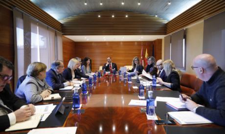 Junta de Portavoces y Mesa de las Cortes de CLM