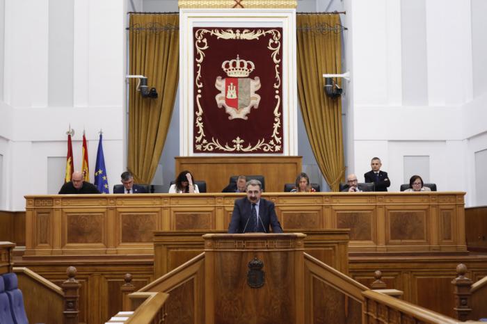 Pleno en las Cortes