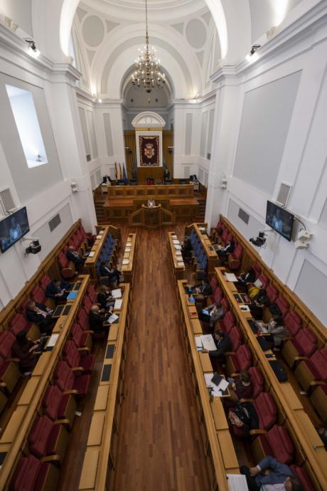 """Las Cortes regionales muestran un """"rotundo rechazo"""" al ATC y reclaman una alternativa de """"energía limpia"""" en Villar de Cañas"""