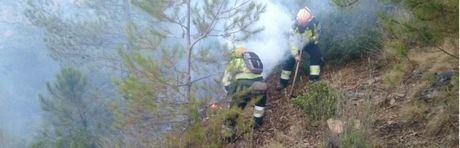 Declarado un nuevo incendio forestal en Talayuelas