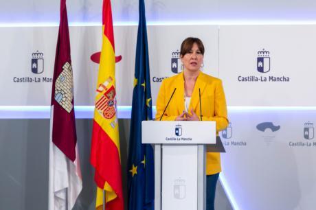 La consejera de Igualdad y portavoz del Gobierno regional, Blanca Fernández, ofrecerá una rueda de prensa en el Palacio de Fuensalida, para informa sobre asuntos de actualidad relacionados con la situación de la pandemia del COVID-19