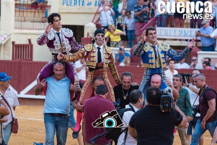 Jesulín de Ubrique conquista el corazón de la Cuenca taurina