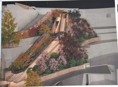 """Dolz afirma que las escaleras mecánicas al Casco Antiguo serán """"totalmente accesibles"""""""
