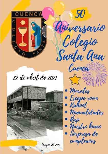 El colegio Santa Ana cumple 50 años