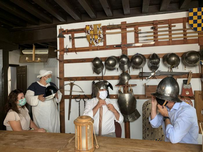 """Bellido destaca el tirón turístico de los pueblos de la región este verano, con un modelo de """"turismo limpio y responsable"""""""