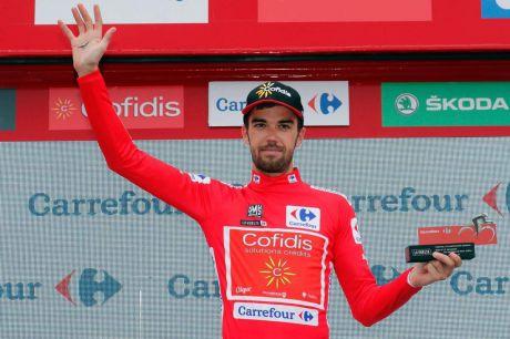 Jesús Herrada nuevo líder de la Vuelta a España 2018