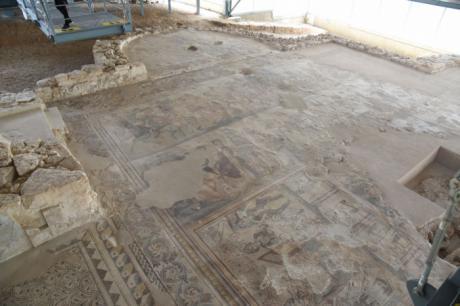 Una de cada cuatro visitas a yacimientos arqueológicos en Castilla-La Mancha desde julio es a la Villa romano de Noheda