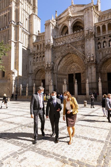 La torre de la Catedral de Toledo recupera su esplendor y ya luce restaurada