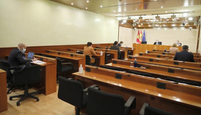 Comisión no Permanente de Estudio sobre la gestión y efectos del COVID-19 en Castilla-La Mancha. Tercer Período de Sesiones
