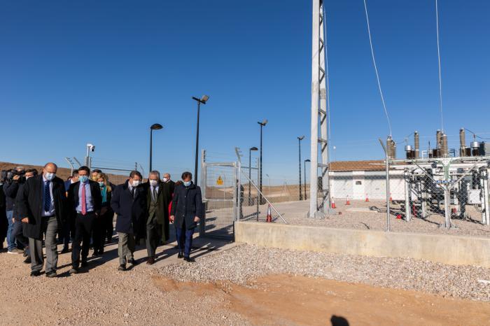 Inaugurado el parque fotovoltaico 'FV Solaria-Belinchón I'