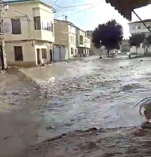 Las tormentas provocan daños en varias zonas de la provincia