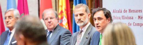 Ángel Mariscal destaca ante el Rey Felipe VI la defensa y promoción del Patrimonio del Grupo