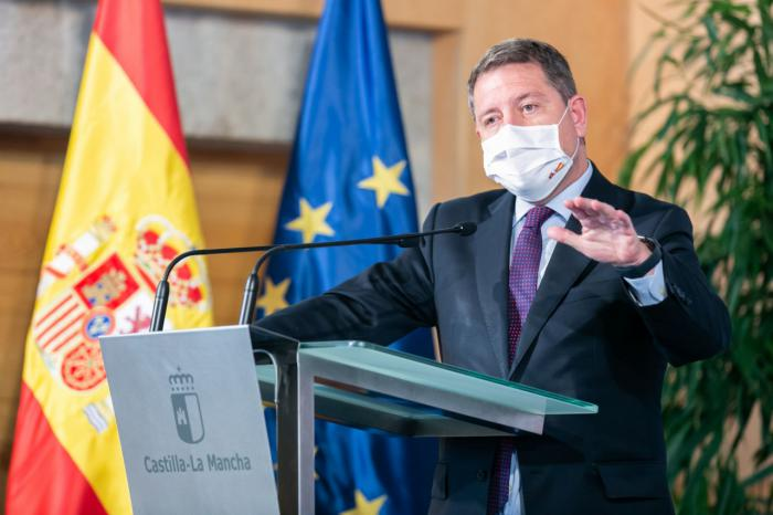 """García-Page firmará mañana la """"restricción perimetral de Castilla-La Mancha"""" hasta el próximo día 9 de noviembre"""