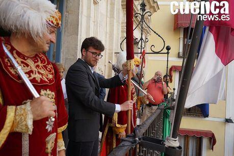 El Pendón del Rey Alfonso VIII vuelve al pueblo durante unas hora