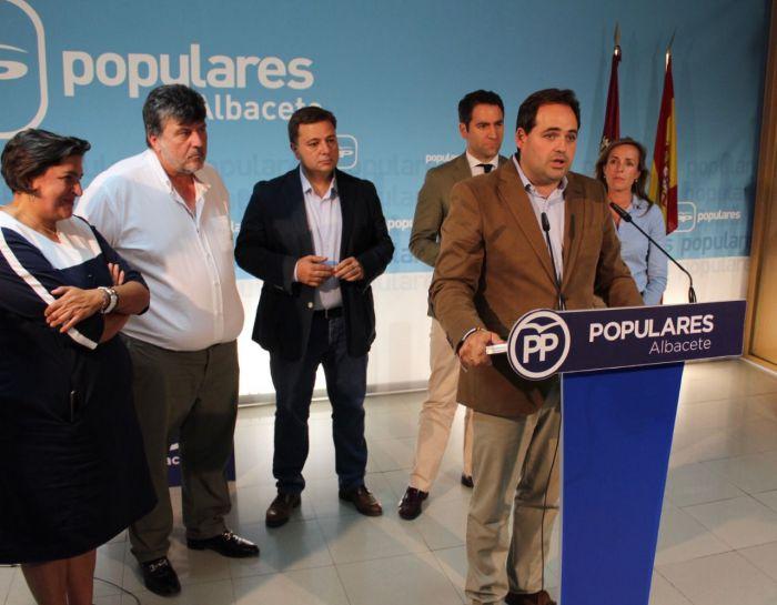 Francisco Núñez proclamado candidato único a presidir el PP de la región