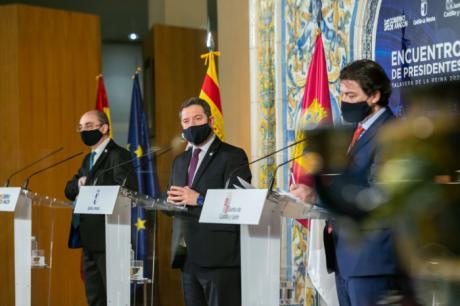 Castilla-La Mancha, Aragón y Castilla y León se unen para optar a los fondos europeos con proyectos conjuntos que respondan al reto demográfico