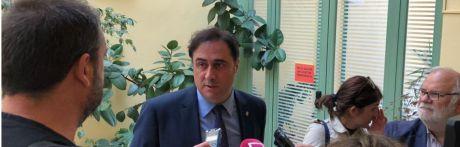 Mariscal aclara a los socialistas que nada tiene que ver el protocolo de 2011 con el proyecto que se va a ejecutar en los ríos Júcar y Moscas a su paso por Cuenca
