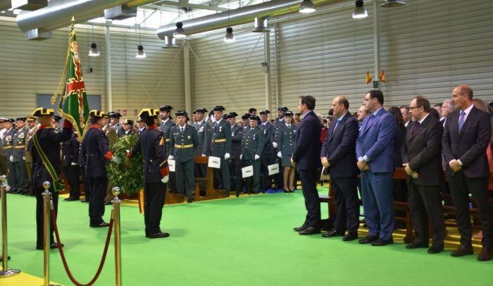 Emotivo día de la Guardia Civil en Cuenca para honrar a su patrona