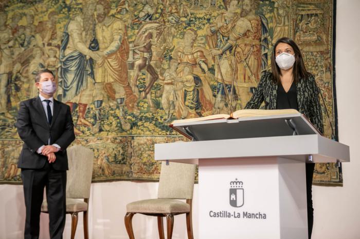 Toma de posesión de la nueva consejera de Bienestar Social, Bárbara García
