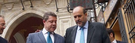 """García-Page se muestra dispuesto a """"aguantar"""" los insultos necesarios por seguir defendiendo los intereses hídricos de la región"""