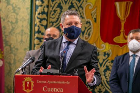 """García-Page afirma que la llegada del Centro Estudios Penitenciarios es una decisión que 'trasciende generaciones, trasciende partidos políticos y trasciende coyunturas"""""""