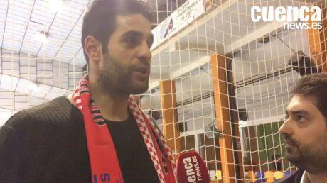 David Mendoza valora el empate entre el Liberbank Cuenca con el BM. Logroño La Rioja
