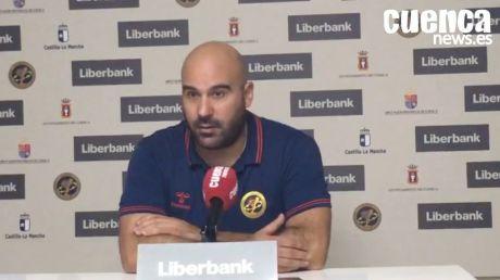 Sala de Prensa | Lidio Jiménez - [Liberbank Cuenca 25- 25 BM. Logroño La Rioja]