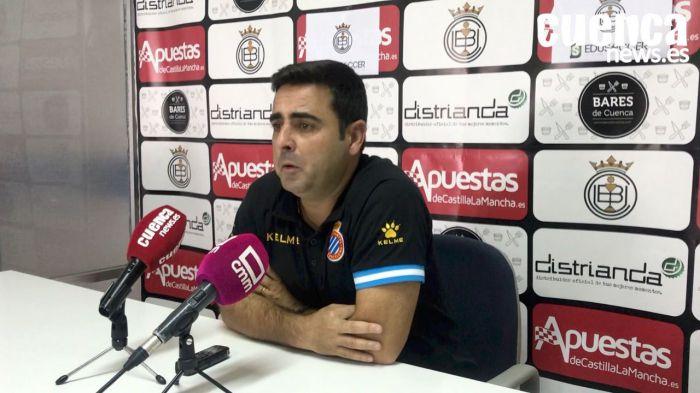"Sala de Prensa   David Gallego - [U.B. Conquense 1 - 1 Espanyol ""B""]"