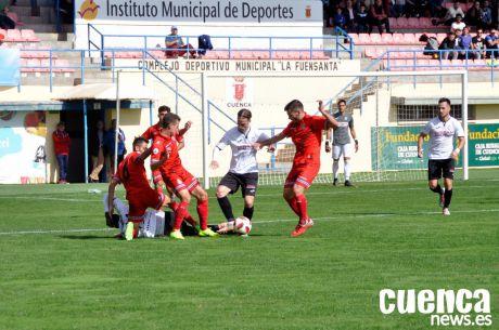 Cruel empate para el Conquense ante el filial perico (1-1)