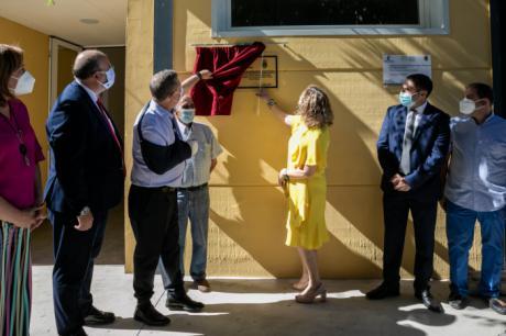 El Colegio Rural Agrupado de Osa de la Vega estrena nuevo gimnasio