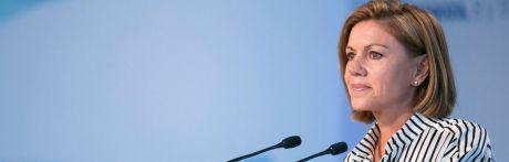 Cospedal deja la Ejecutiva del PP pero mantiene su escaño en el Congreso
