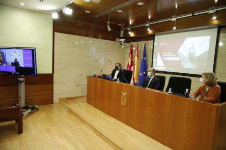 Bellido destaca el trabajo de la Red Parlamenta en garantizar la información parlamentaria a la ciudadanía y el esfuerzo de los parlamentos en modernización y transparencia