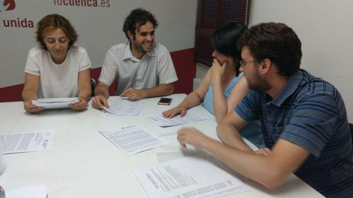 Izquierda Unida inicia su proceso de primarias para elegir candidatura para las próximas elecciones municipales de Cuenca